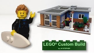 LEGO City Town House Custom Build MOC
