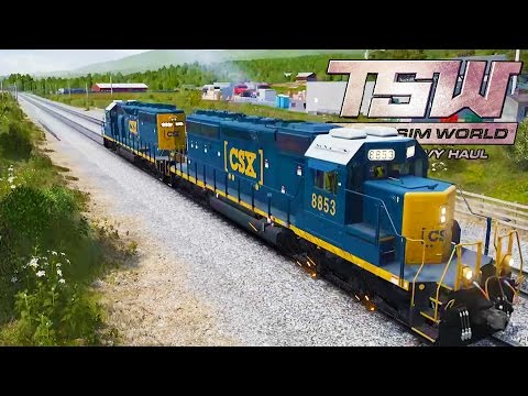 I BROKE THE TRAIN! Train Simulator Driving! - Train Sim World:  CSX Heavy Haul Gameplay Ep 1