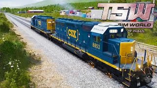 I BROKE THE TRAIN! Train Simulator Driving! - Train Sim World:  CSX Heavy Haul Gameplay Ep 1