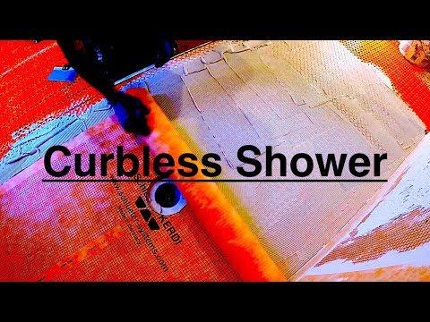 Schluter curbless shower base Installation Warren, New Jersey