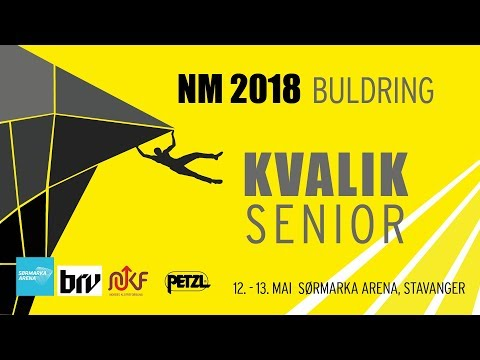 NM 2018 BULDRING, Kvalik Senior