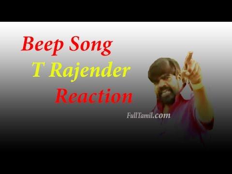 Beep Song | T Rajandar Reaction | Simbu | Tamil Comedy
