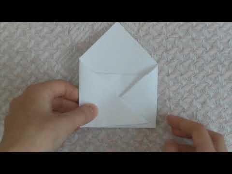 МК на конверт для лд мастер класс