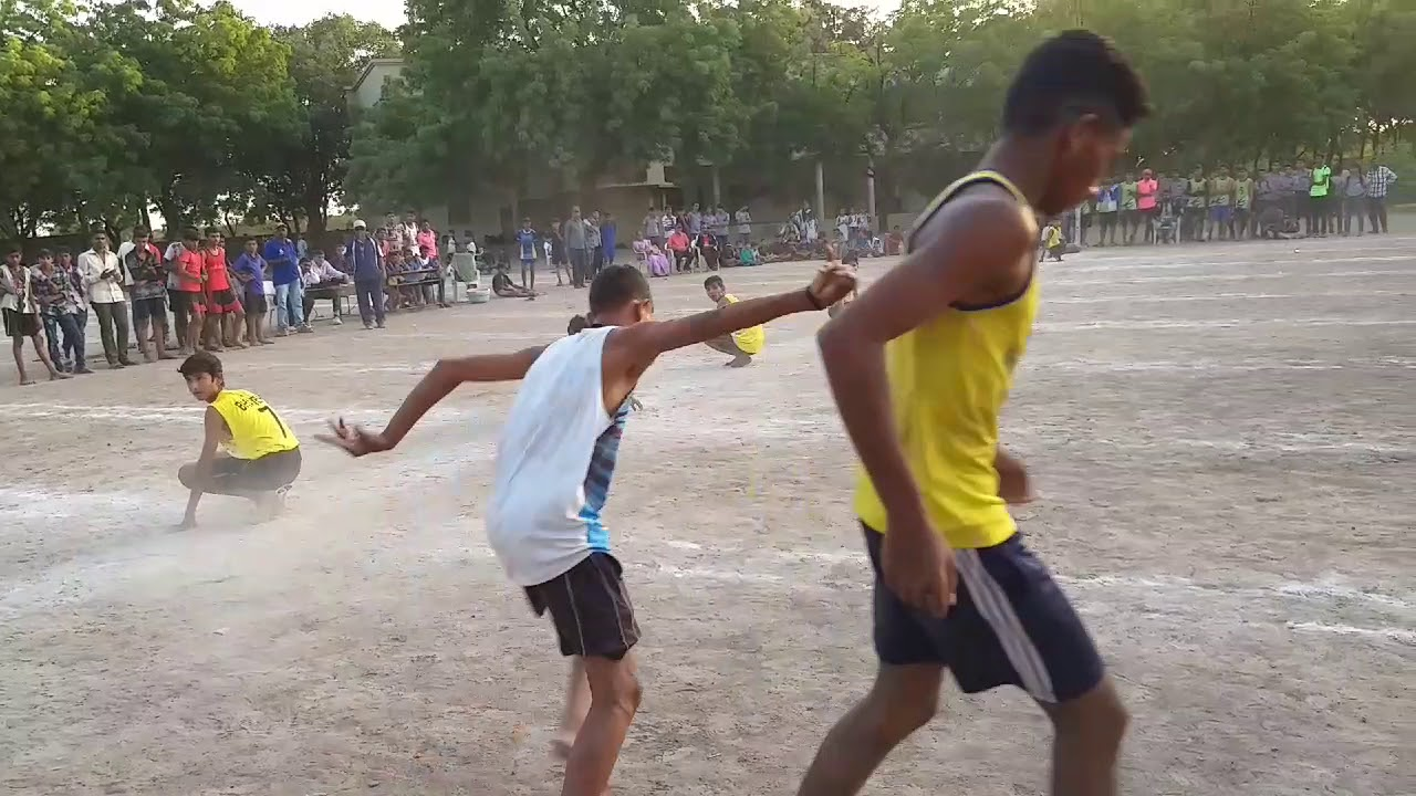 Kho kho sosiya under 17th Final || Talaja vs Bhavnagar || 2018 Khel mahakumbh