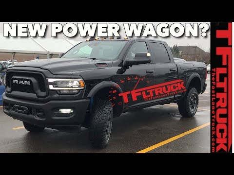 2020 Ram Power Wagon Cummins Engine, Interior, Release Date >> Breaking News This Is The New 2020 Ram 2500 Power Wagon Youtube
