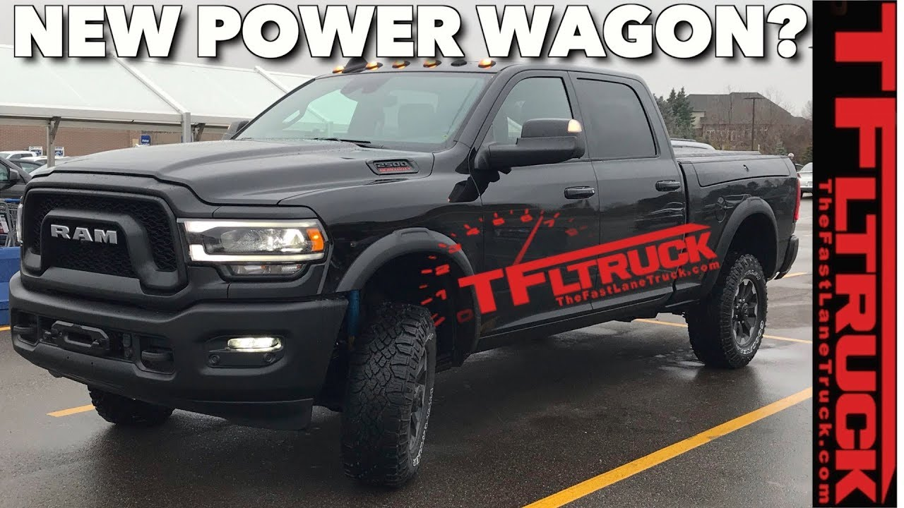 Breaking News This Is The New 2020 Ram 2500 Power Wagon