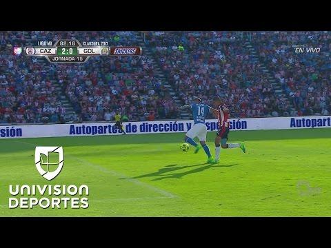 Martin Rodríguez dejó ir en un mano a mano el 3-0 ante Chivas