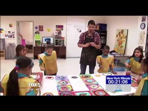 Global Community Charter School Arts Featured on Fox 5 News NY Minute