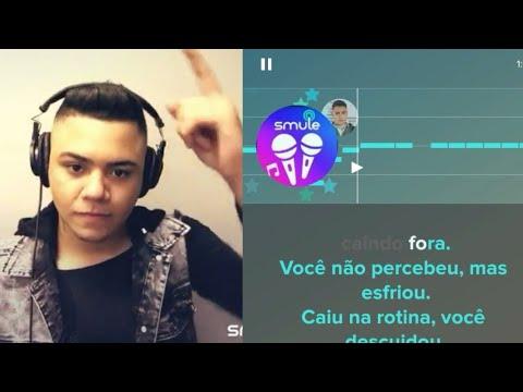 Cante A MALA É FALSA com Felipe Araújo no karaokê smule