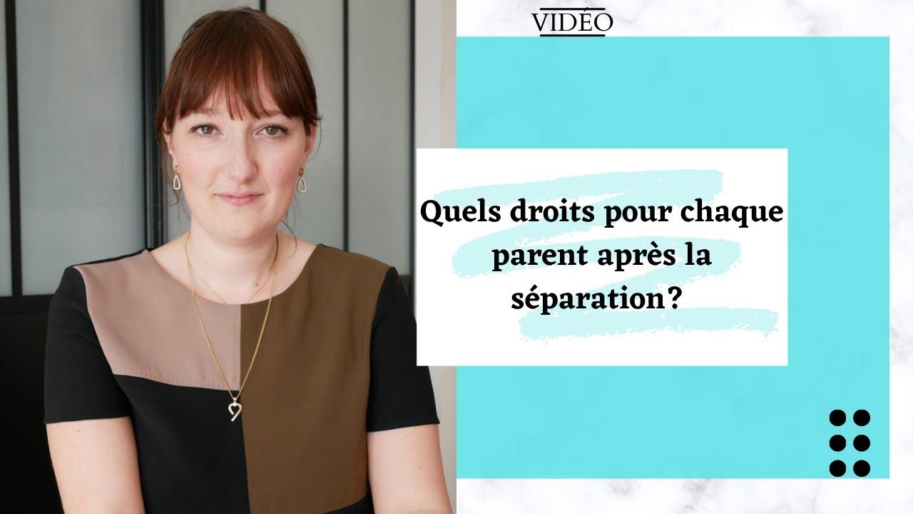 L'incidence de la séparation sur les enfants