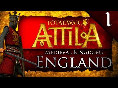 MEDIEVAL KINGDOMS TOTAL WAR ATTILA: ENGLAND CAMPAIGN EP. 1