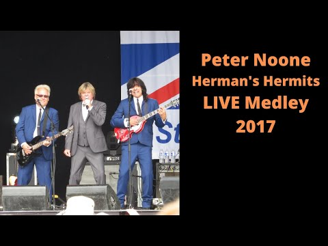 Peter Noone Herman's Hermits LIVE Medley 2017 NY State Fair 08/28/17