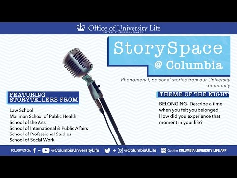 StorySpace @ Columbia - Belonging