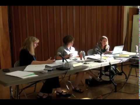 July 27, 2015 Hadley School Committee Meeting