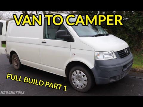 van-to-camper-conversion-build