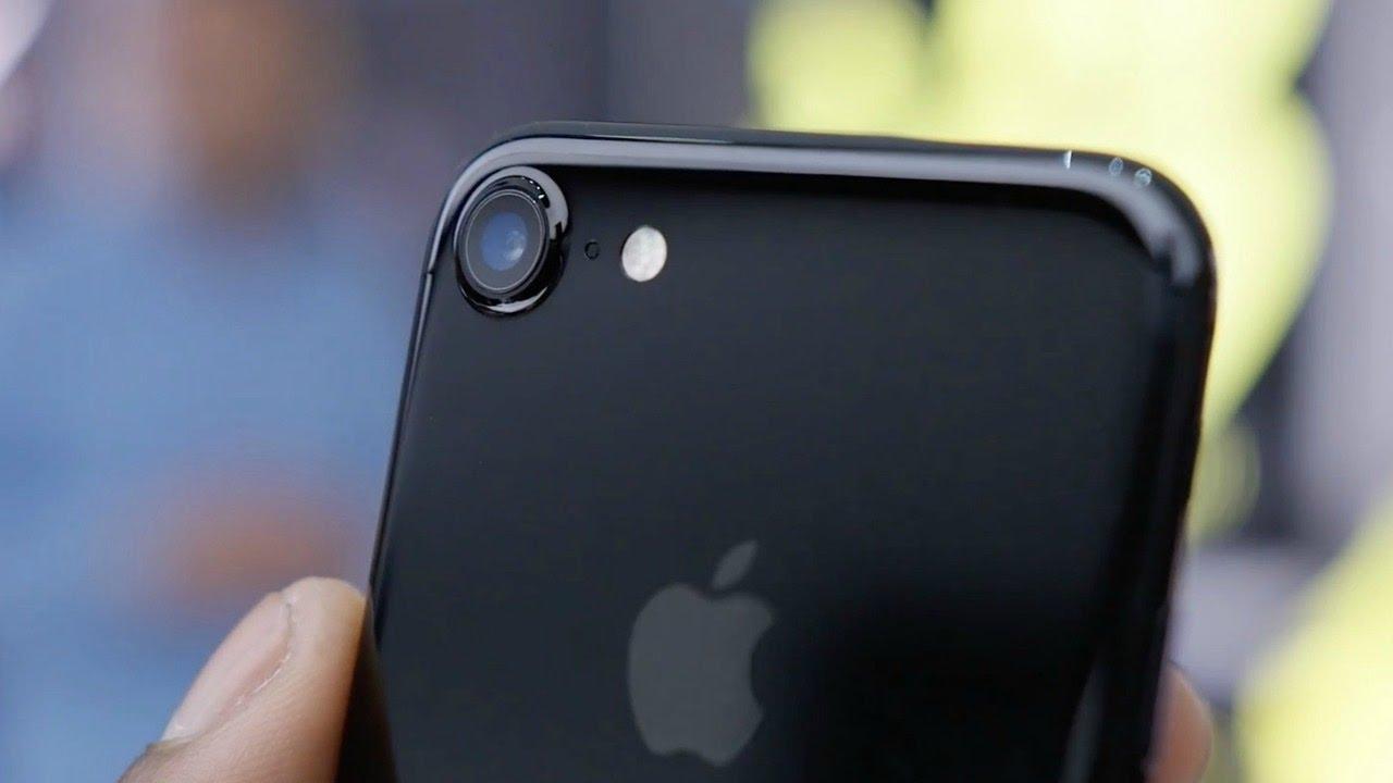 deballage de l 39 iphone 7 noir de jais 128 gb youtube