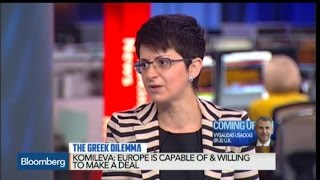 Without ECB Support, 'Grexit' Is Inevitable: Komileva