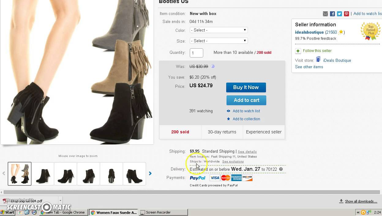 f45e1337 How To Sell Womens Shoes At Cheap Prices - YouTube