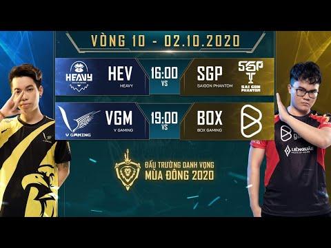 SGP bất ngờ sẩy chân trước HEV, BOX chính thức lọt vào top 4 - Vòng 10 Ngày 2 - ĐTDV mùa Đông 2020