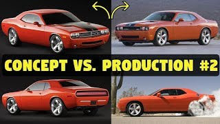2006 Dodge Challenger - Concept Cars vs. The Real Thing #2