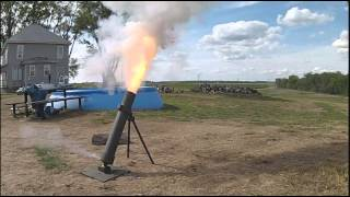 Mortar launch