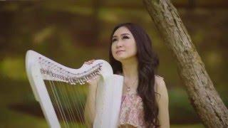 Suara Hati Seorang Kekasih - AADC (Vocal and Harp Cover by Angela July)