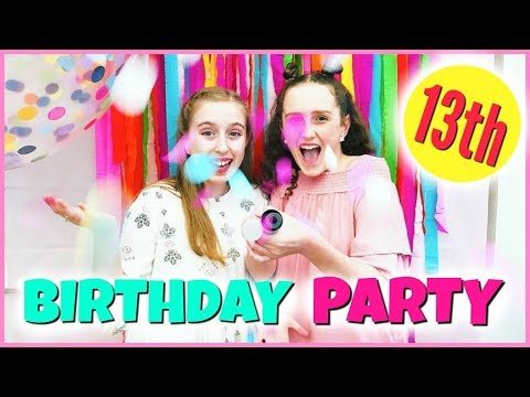 BIRTHDAY IDEAS FOR TEENS! My 13th Birthday Party!