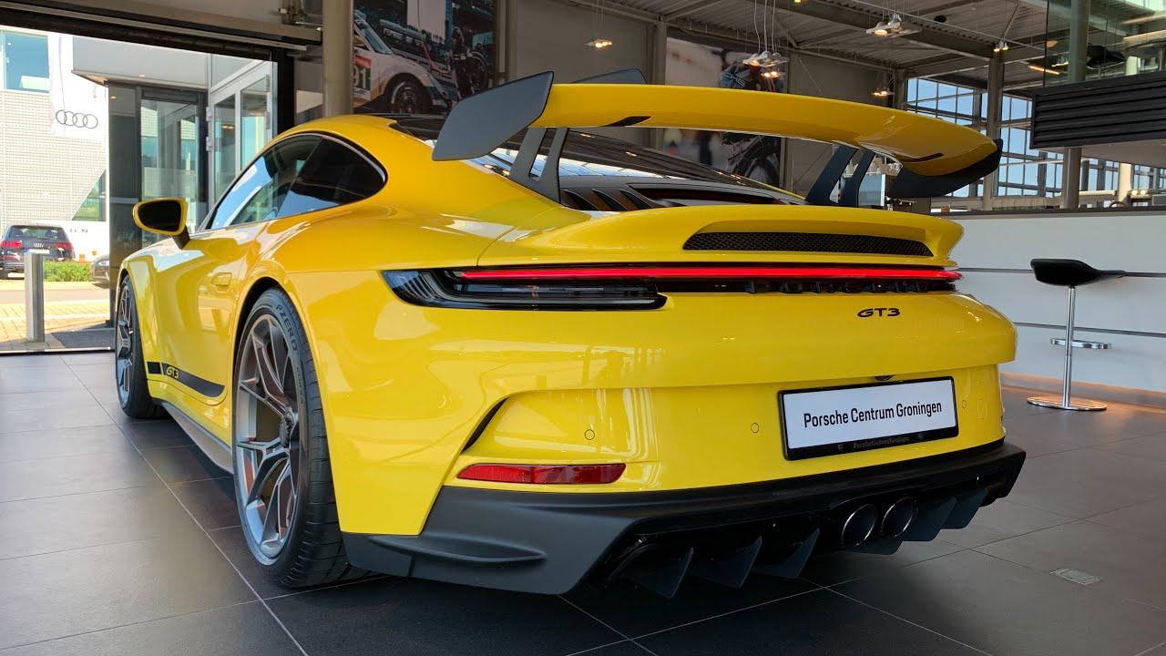 2022 Porsche 911 GT3 (992)   Sound, Visual Review and specs
