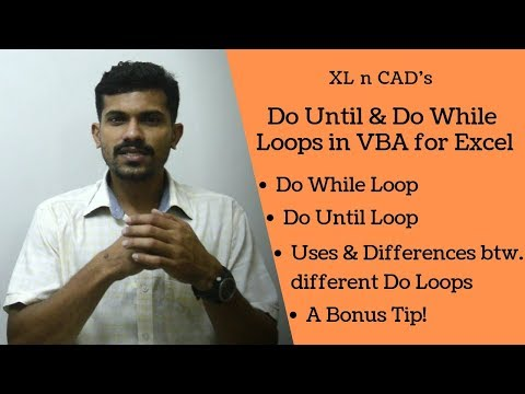 How To Use Do While And Do Until Loops In VBA For Excel (4 Examples)