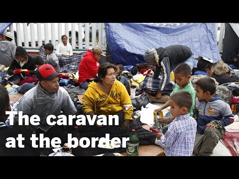 Sights And Sounds From Border Caravan |  San Diego Union-Tribune