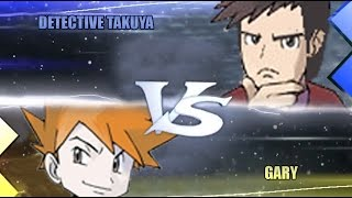 Pokemon Omega Ruby & Alpha Sapphire [ORAS]: Detective Takuya Vs Gary