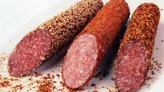 Домашняя колбаса без кишок(Если вы относите себя к любителям мясных закусок, то, наверное, как никто знаете, какую сейчас делают плохую..., 2016-03-20T20:42:20.000Z)