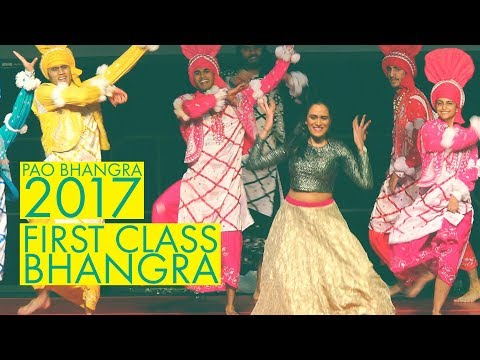 First Class Bhangra @ Pao Bhangra 2017
