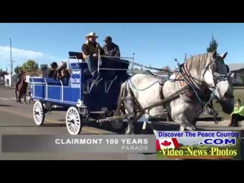 Clairmont Alberta - 100 Year Celebration Parade -  2015 VIDEO FEATURE