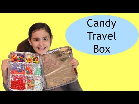 How to Make a CANDY TRAVEL BOX with Your Favorite Candies