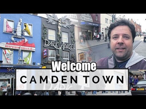 CAMDEN TOWN - CRAZY PLACE LONDON