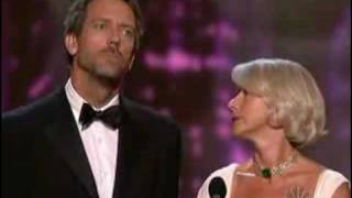 Hugh Laurie Presenting At '06 Emmys