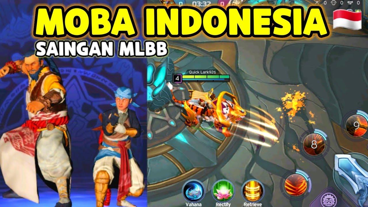 MASIH INGAT MOBA BUATAN INDONESIA ? BEGINI NASIB NYA SEKARANG - SAINGAN NYA MOBILE LEGEND