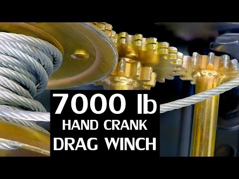 DIY Hand Crank Tow Winch ($35 Ebay winch mod)