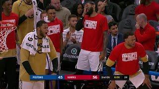 3rd Quarter, One Box Video: Atlanta Hawks vs. Detroit Pistons