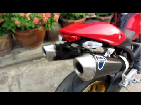 ducati monster 795 Termignoni Exhaust