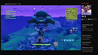 "Fortnite - First ""High Explosive"" Match (Squad)"