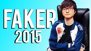 SKT T1 Faker Montage 2015 | (League of Legends)