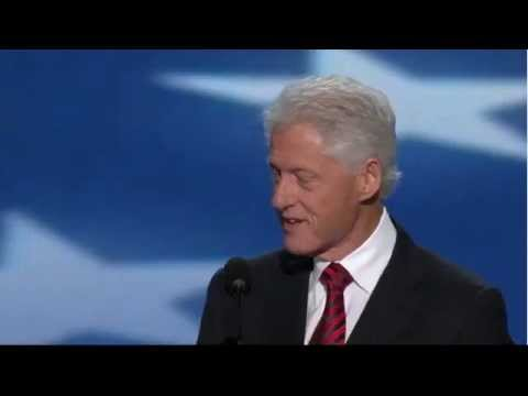 Bill Clinton full DNC Speech 2012