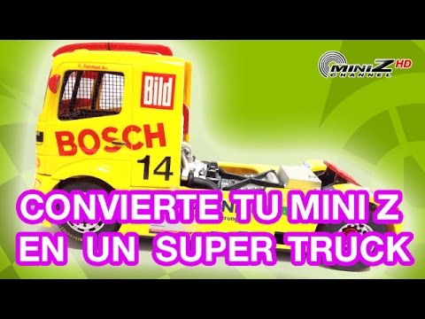 Convierte tu Mini Z en un Super Truck – Mini-Z Channel – 500