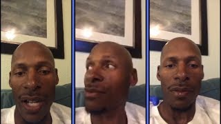 Ray Allen Goes Live With Friends and Family
