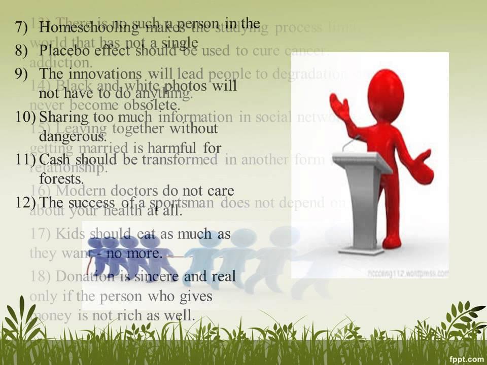 Persuasive research paper topics?