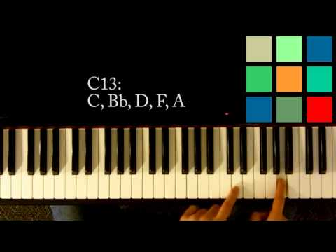 How To Play A C13 Chord On The Piano