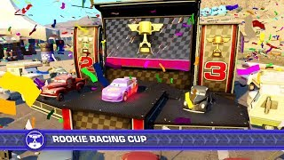 Cars 3 Driven to Win PS4 Gameplay Rookie Racing