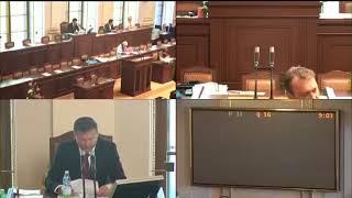 PSPČR 2018-05-31 09:00 S14/01 - Zahájení schůze (Novičok)
